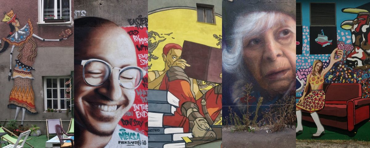 Pomniki dla sław, drobiazgi dla wszystkich – street art w Krakowie AD 2017
