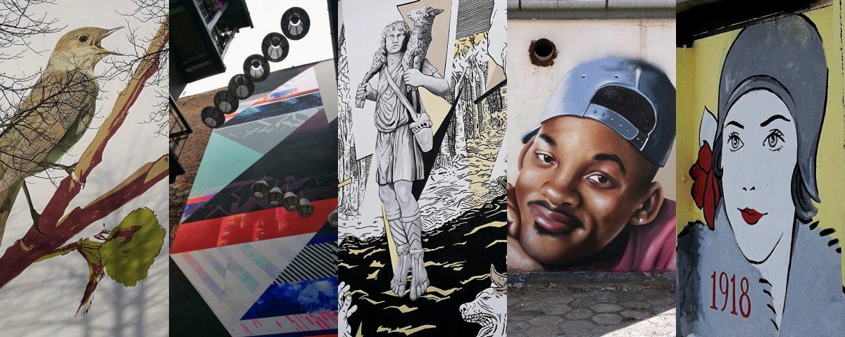Mity i fantazmaty – street art w Krakowie w 2018 r.